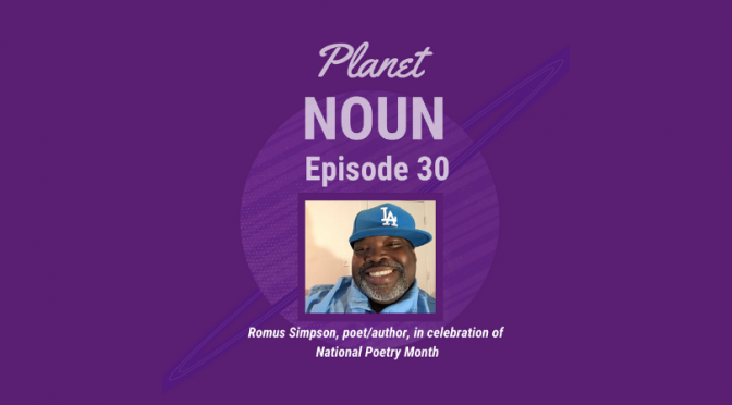 Revolutionary in the regular with poet Romus Simpson