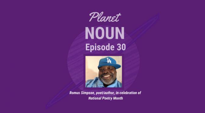 Revolutionary in the regular with poet Romus Simpson